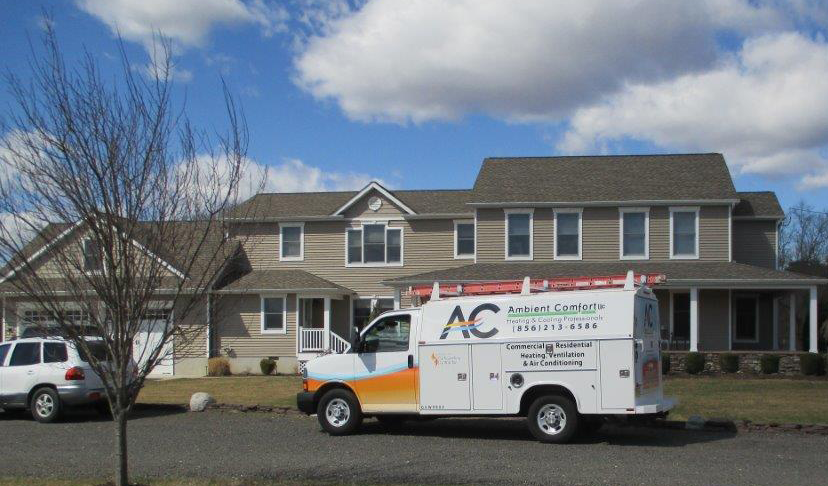 Ambient Comfort LLC servicing a house